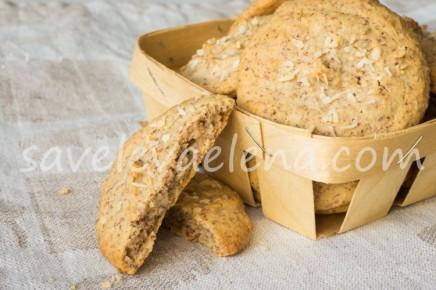 Ореховое печенье без глютена