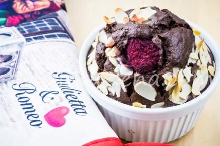 Шоколадный кекс с кокосовым молоком