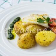 Запеченный картофель по-быстрому