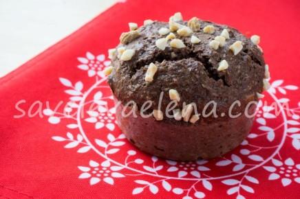 Шоколадные кексы с имбирем и рикоттой