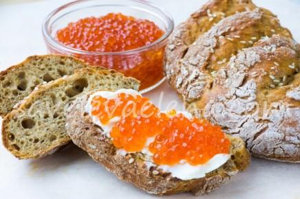 Цельнозерновой творожный хлеб