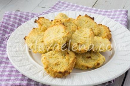 Апельсиновое печенье из рикотты