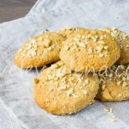 Творожное печенье с арахисовой мукой