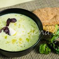 Кабачковый суп с молоком
