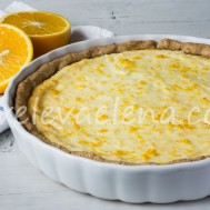 Апельсиновый тарт с рикоттой