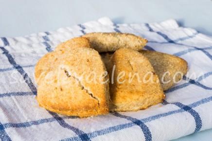 Лимонное печенье с кокосовым молоком