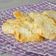 Кокосовое печенье из белков и кокосовой муки