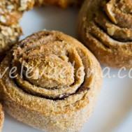 Творожные булочки с корицей