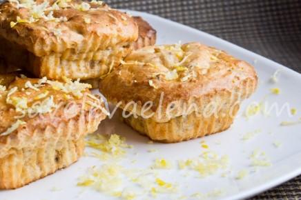 Творожные кексы с лимонной цедрой