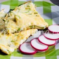 Омлет с кабачком и сыром